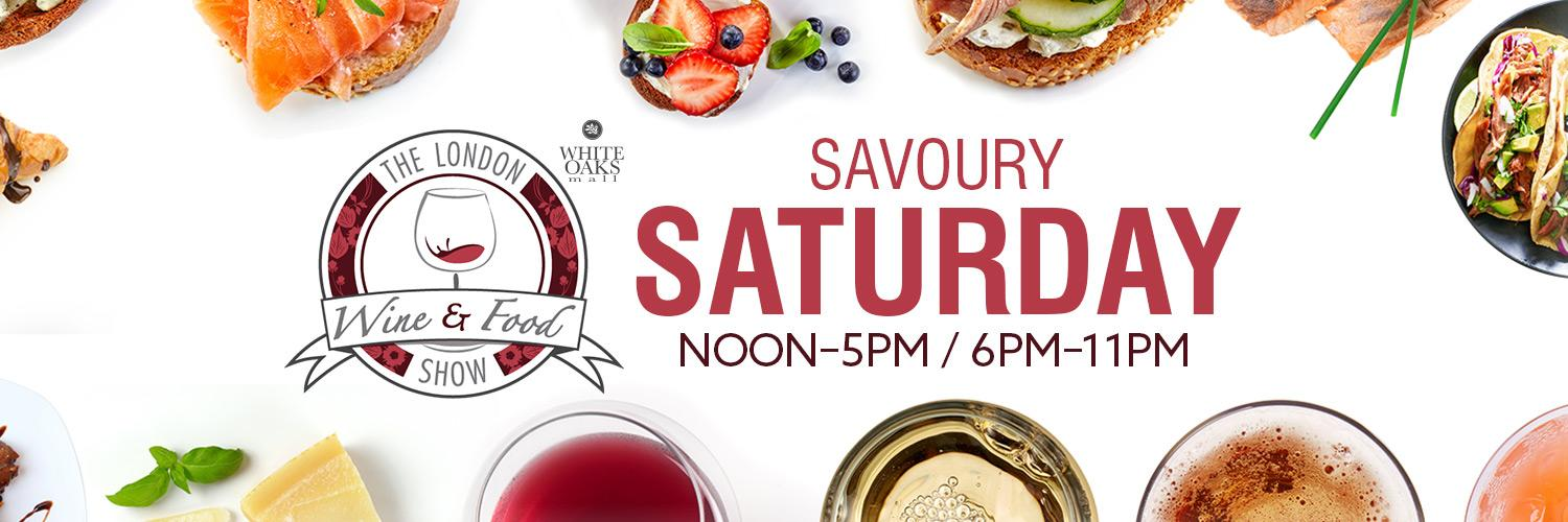 Saturday at the Wine & Food Show